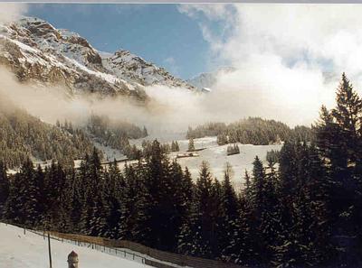 Descent from Klein Scheidegg