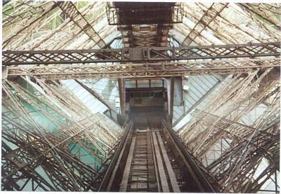 Inside La Tour Eiffel
