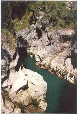 Gorge in Bavaria