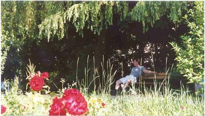 Jeffrey in Garden