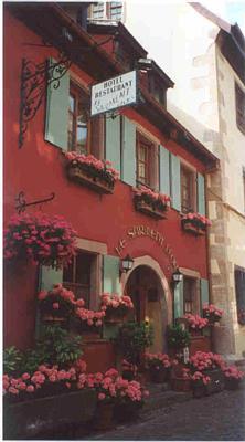 Red Building in Bergheim
