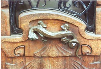 Salamander Door Handle