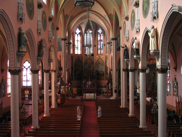 St.Anns RC Church,    Broadway and Emslie, Buffalo, NY