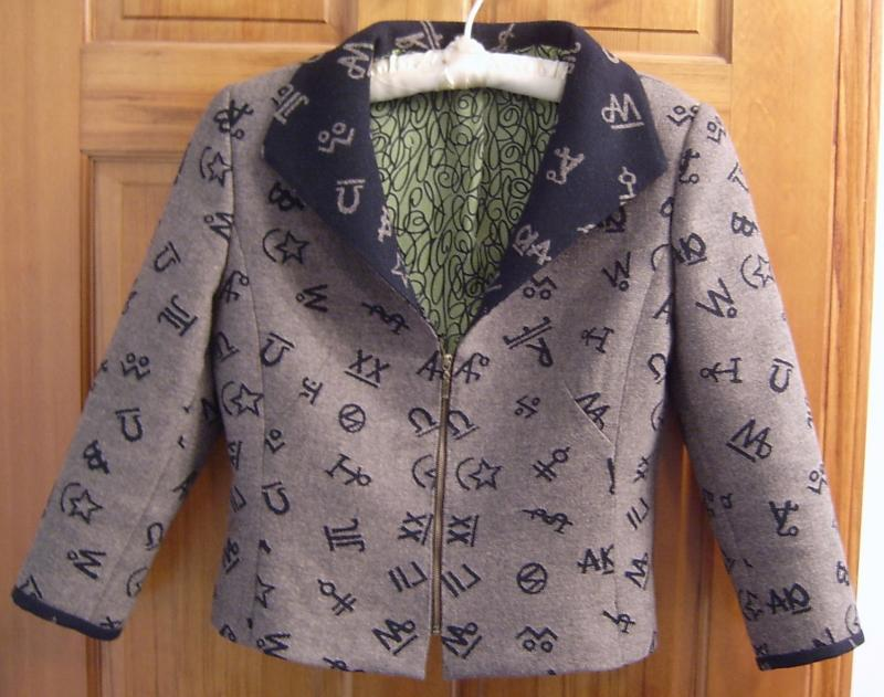 Jacket Zipped