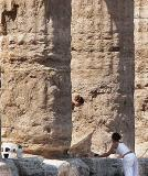 Preserving the Neptune Temple at Paestum - II
