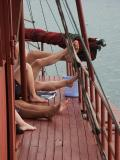 Feet-Halong Bay