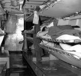 AN106.  Forward berthing section, USS Hugh Purvis, DD 709