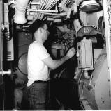 Ships Laundry, USS Hugh Purvis, DD 709, 1962