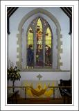 Altar and window, St. Michaels, Teffont Evias