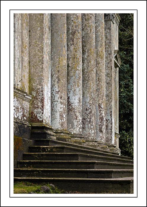 Steps and pillars ~ Stourhead