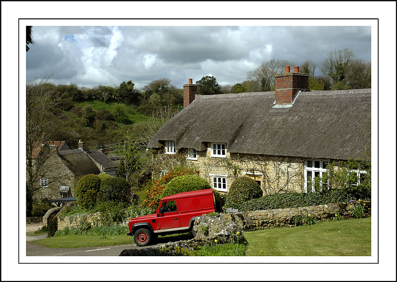 Thatched house, Powerstock, Dorset
