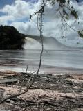 Beach on Canaima Lagoon