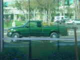 Green Truck Club reflection