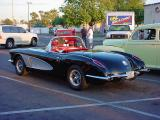 black Corvette 1957 ?