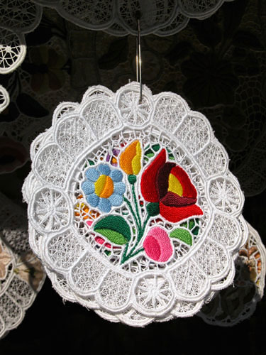 Typical Hungarian embroidery