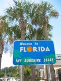 Welcome to the Sunshine State, Florida