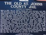 The Old St. Johns County Jail, currently known as The Old Jail, was built on land purchased by Henry Flagler for the purpose of moving the county jail from the prestigious neighborhood of his Ponce de Leon Hotel and Grace Methodist Church.