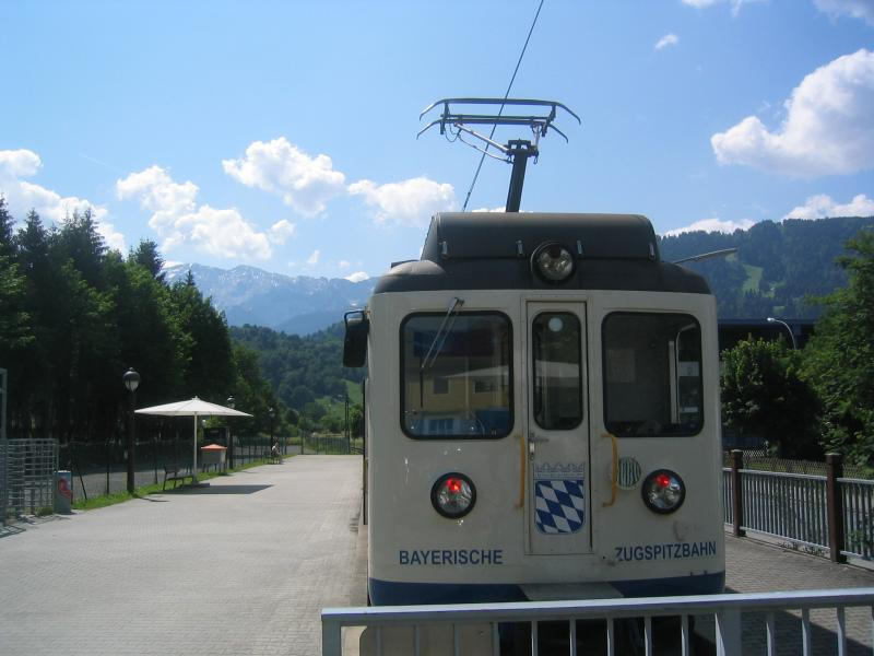Cable car to Zugspitch