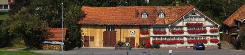 The Schlössli Inn and Cattle Trading Barn (Laurence Matson)