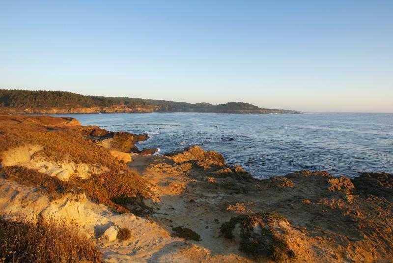CoastLine Bay at Mendocino California