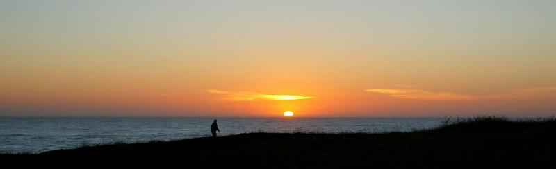 Lonely Mendocino Sunset