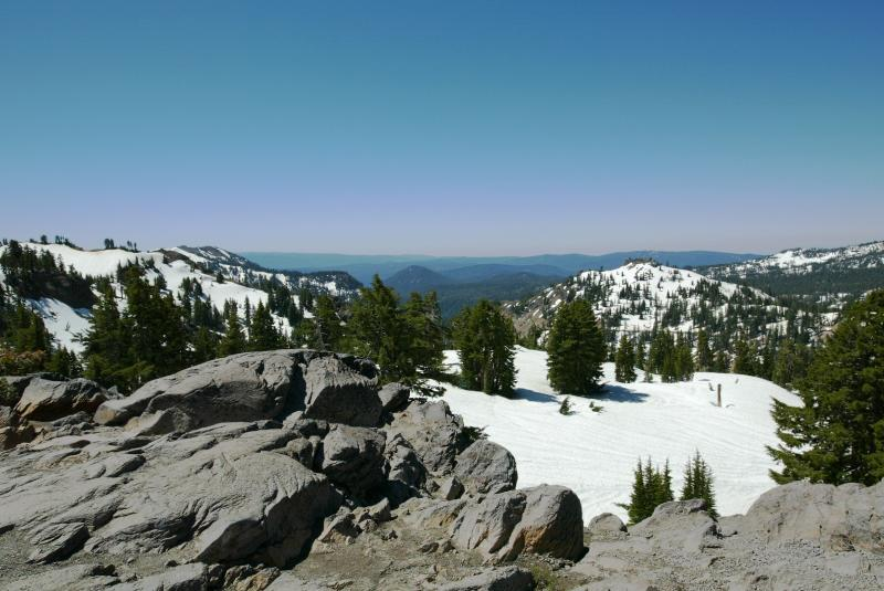 Mt. Lassen Natl. Park Overlook