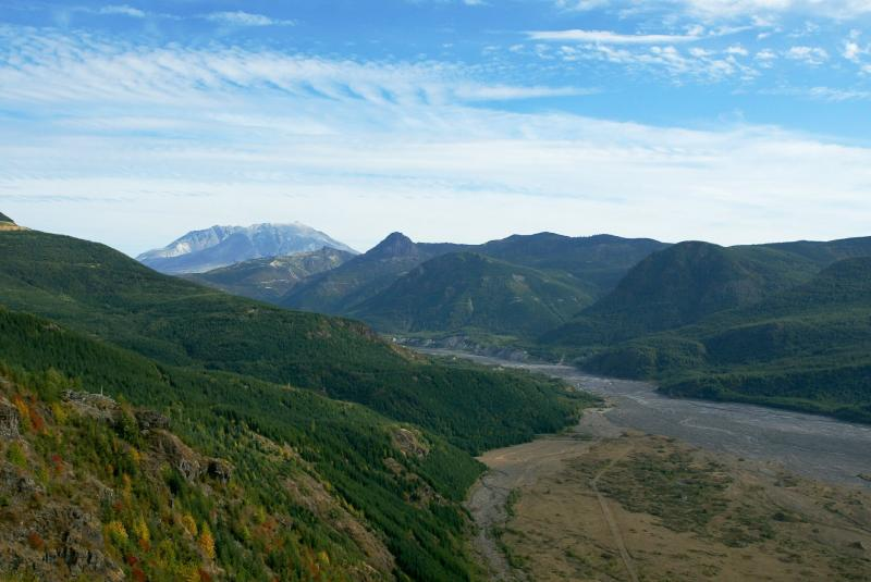 Mt. St. Helens Valley Rift