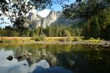 Yosemite Valley by the Merced River