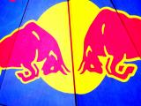 Red Bull Tent at Surf Competition