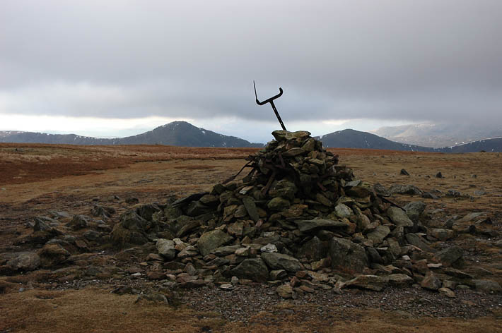 Harter fell summit cairn