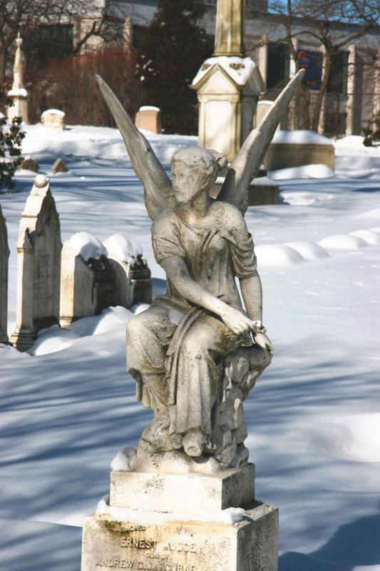 Seated Angel