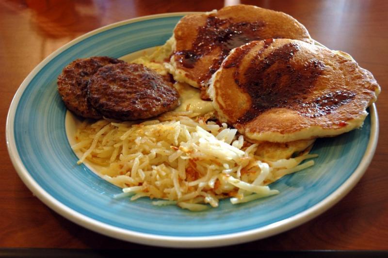Breakfast at Perkins - Frühstück im Ristorante Perchinos   DSC_2755.JPG