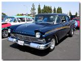 1957 Ford Custom 300. FE 427, C6, 9-4:11 and a lot more - click on photo for more info