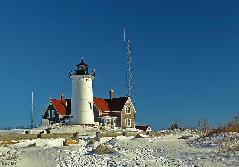 Nobska Light House in Cape Cod MA