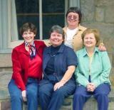 Marina, Joyce, Yvonne, LeeAnn in Lambertsville, Pa.