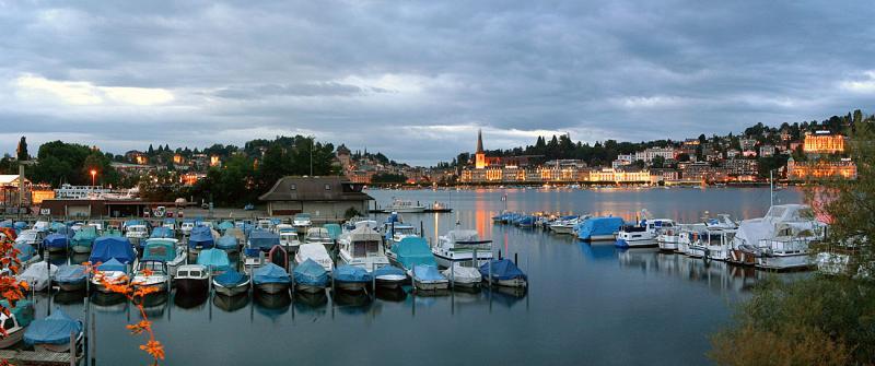 Luzern bei Einnachten / Lucerne by dawn