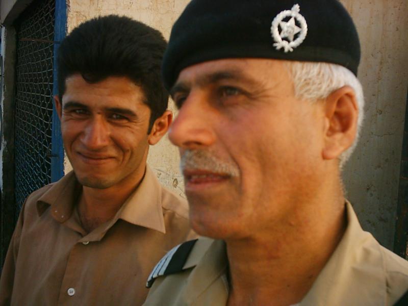 Abdul Jabar and friend
