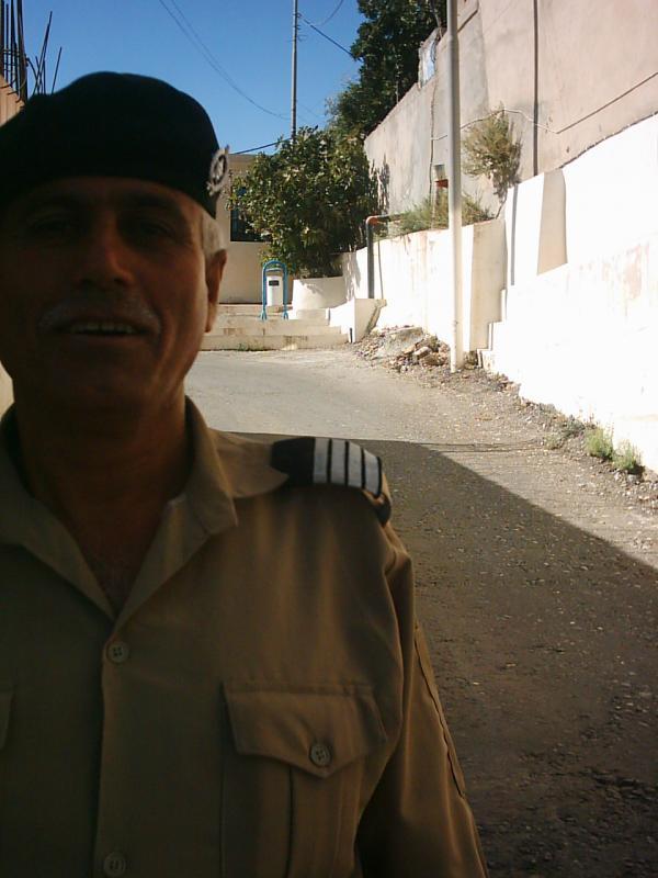 Abdul Jabar at the gate