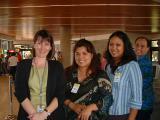 Mary & CSA Trainees @ the pier