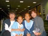 Brenda K, Sister & Grandkids YVR.