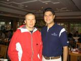 A chance meeting with Olivier Panis at the breakfast buffet