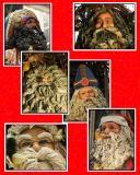 International Santas; playing with Photoshop