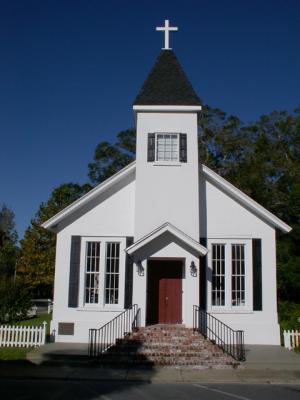 A church in St. Marys