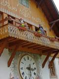 A giant coocoo clock