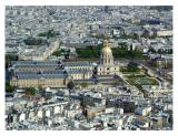 Les Invalides from the Eiffel Tower