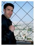 Tim a la Tour Eiffel