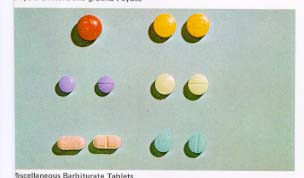 barbiturate pill