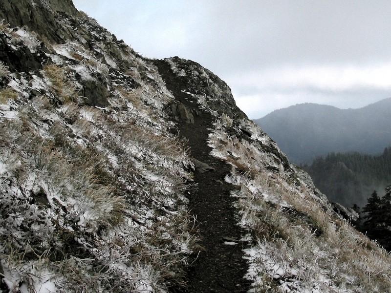 Trail Rounding Corner