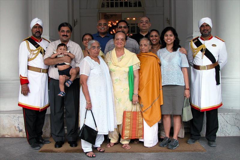 Family gathering - Singapore