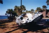 Hurricane Ivan damage